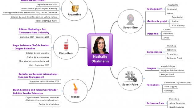Mapas Mentales y CV